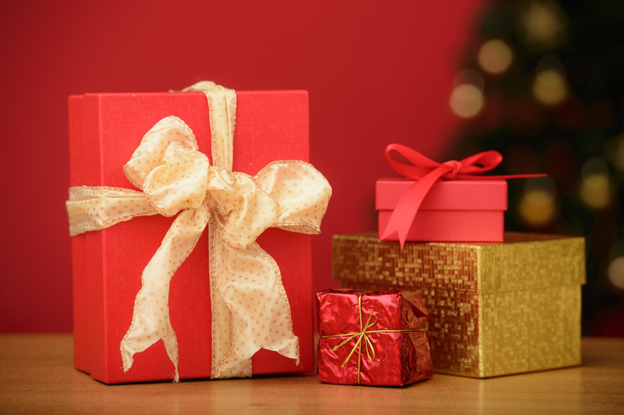 クリスマスプレゼントを買うために現金化