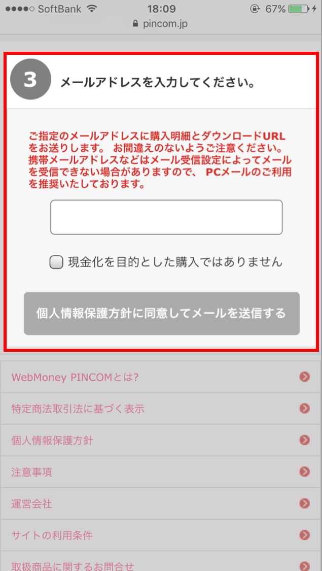 PINCOM使えない2
